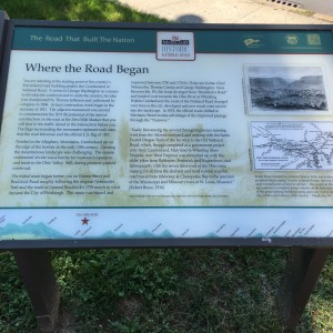 where Nemacolin's Trail began in Cumberland